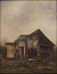 Dark old house by thesvetislav