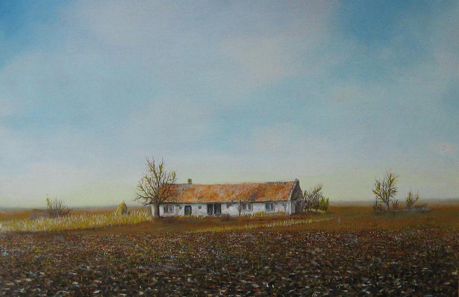 Alone, in oil by thesvetislav