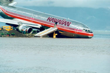 Hawain airlines splash