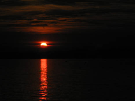 sunset from Siofok