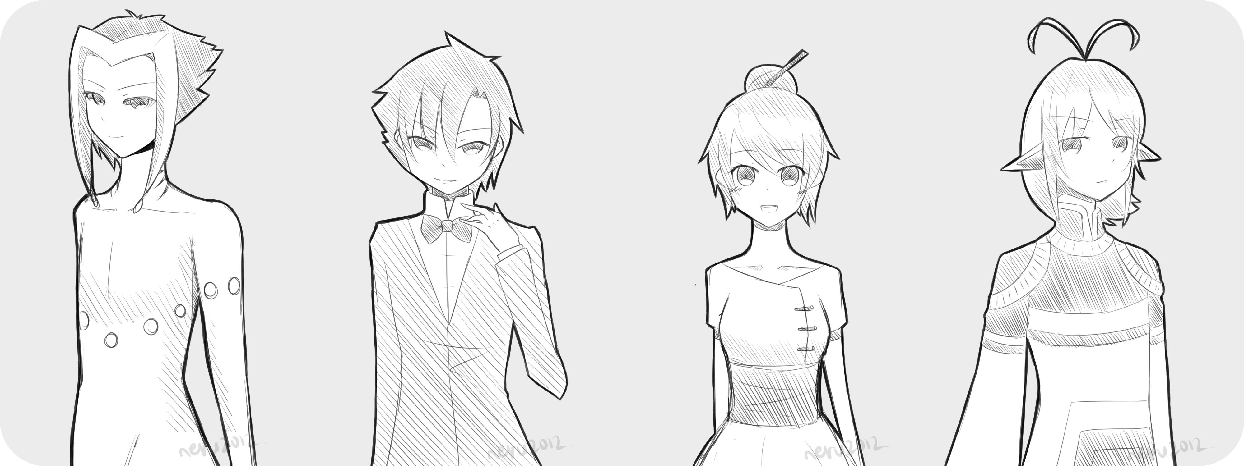 Sketch Requests 5 by neruteru