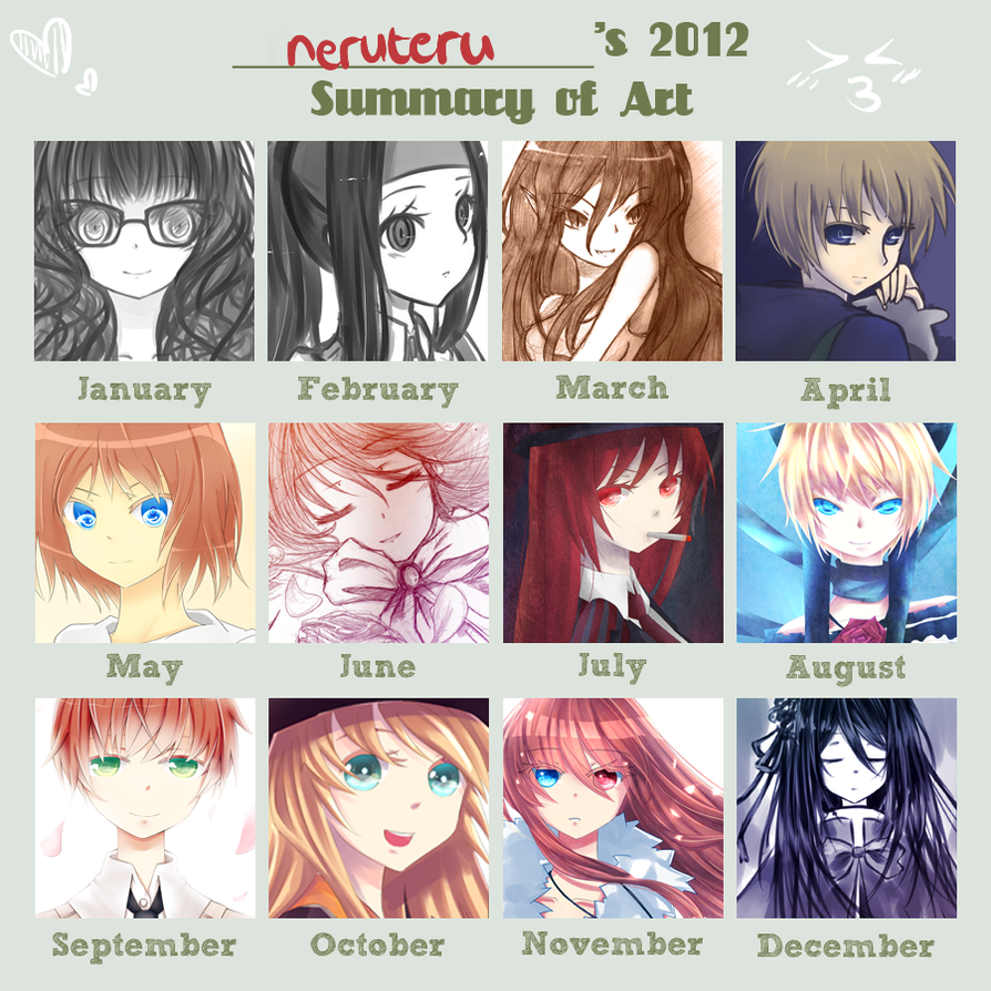 Summary of Art 2012 by neruteru