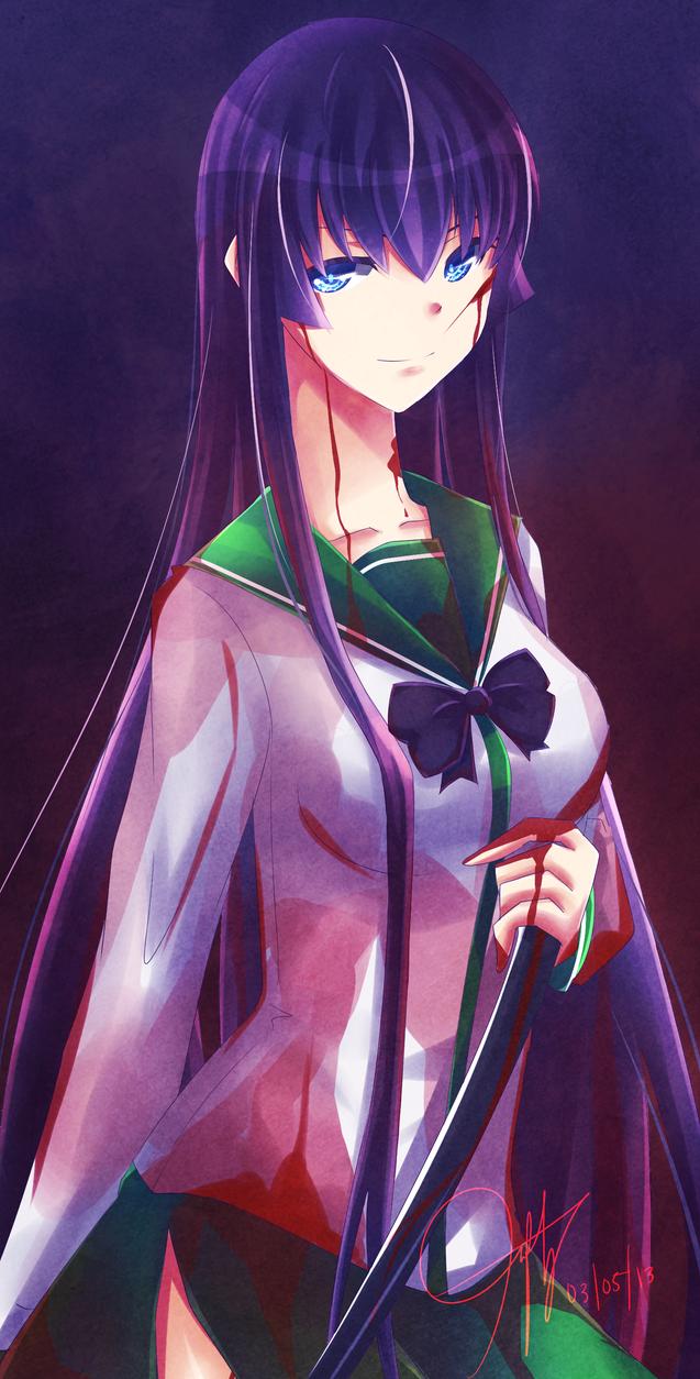 HotD: Saeko Busujima by neruteru