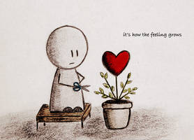 it's how the feeling grows by marii85