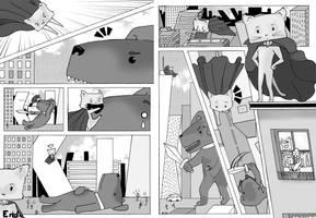 Supercat vs Dogzilla!