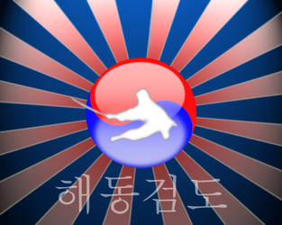 Haidong Gumdo Sunburst by countingthedays