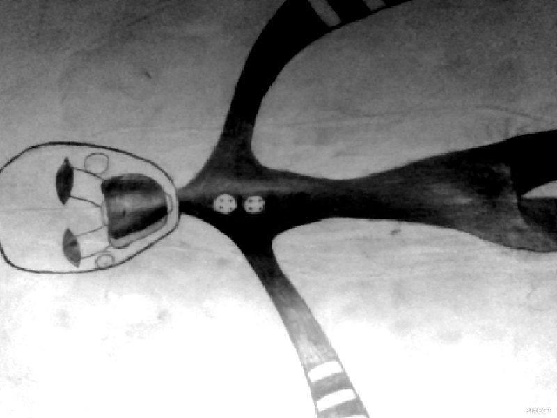 First art, Spooky art by Zm1L3