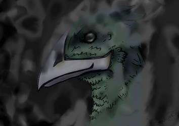 Roek Bedroven, avian thief (Aug 2020)