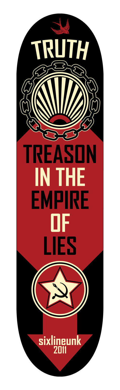 Truth is Treason by sixlinepunk