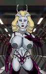 Sexy Alien Scientist, Byenzi by Grey-Garou