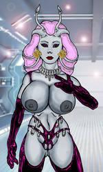 Byenzi The Alien Sex Scientist by Grey-Garou