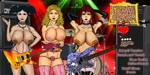 The All-Star, All-Nude Band Eternal Orgasm by Grey-Garou