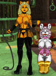 Kitty Dom With Mouse Slave by Grey-Garou