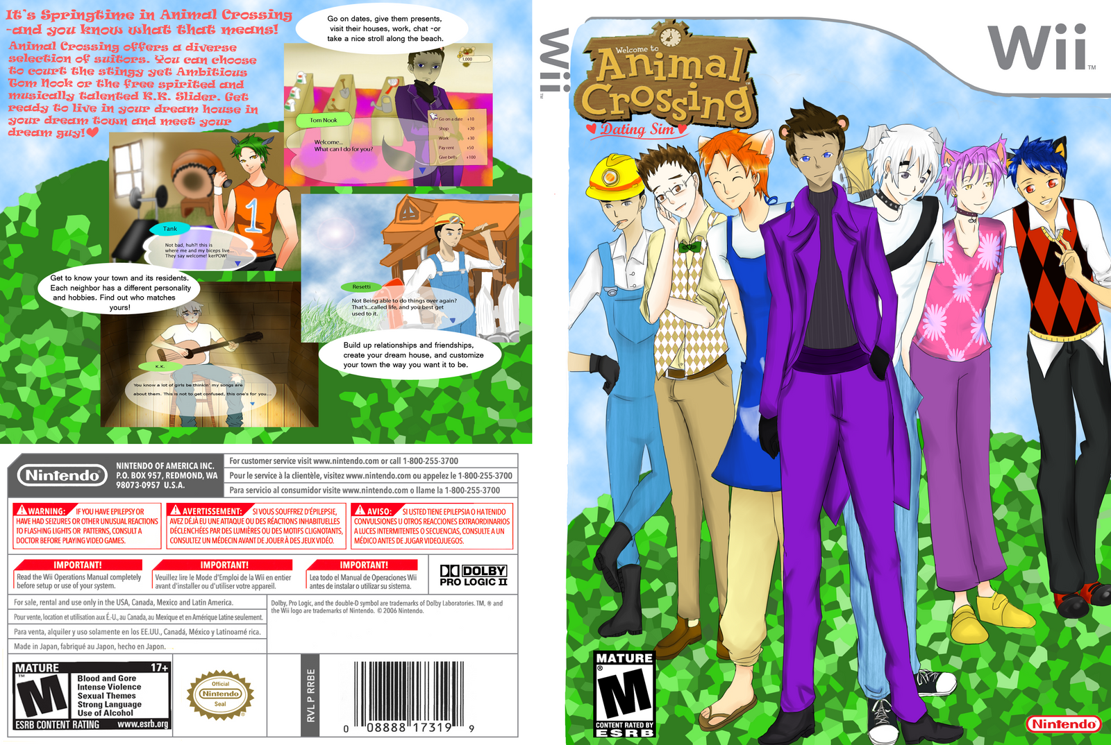 Anime sim date games