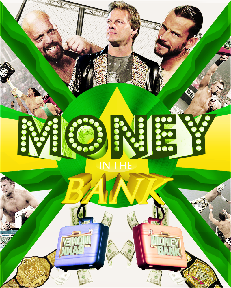 WWE Money in the bank 2012 Poster by HHHGFX