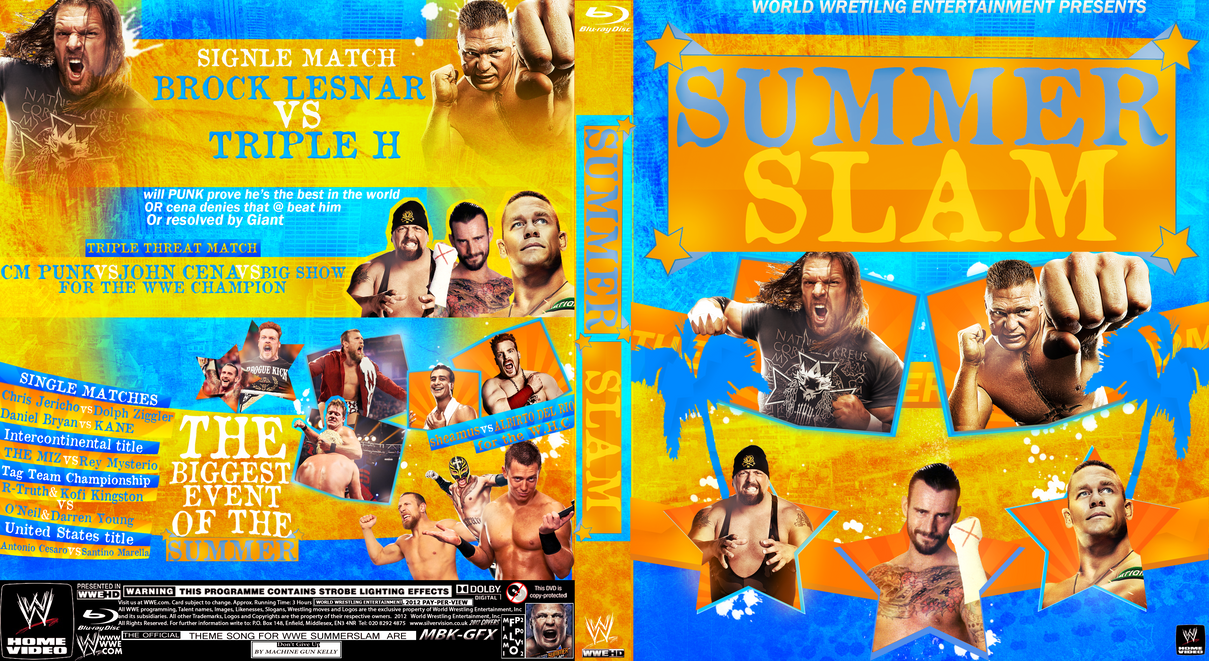 Image result for summer slam 2012 poster