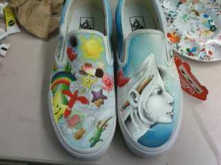 Vans shoes 1 art competition (Last Year) by animeghostygirl