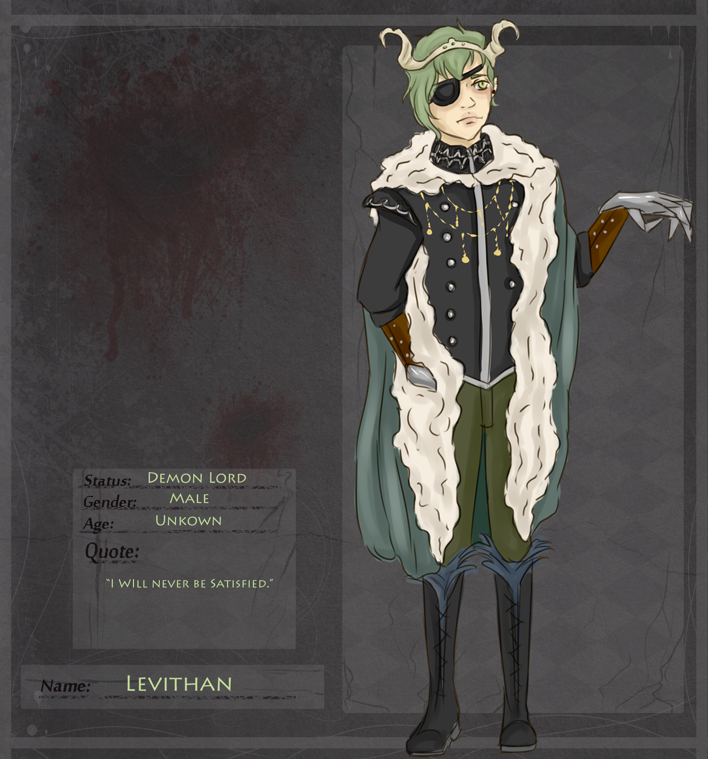Demon Lord: Leviathan by TheUnitCircle on DeviantArt