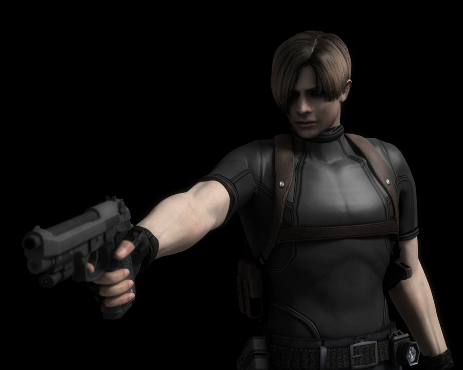 Leon S. Kennedy by blufan