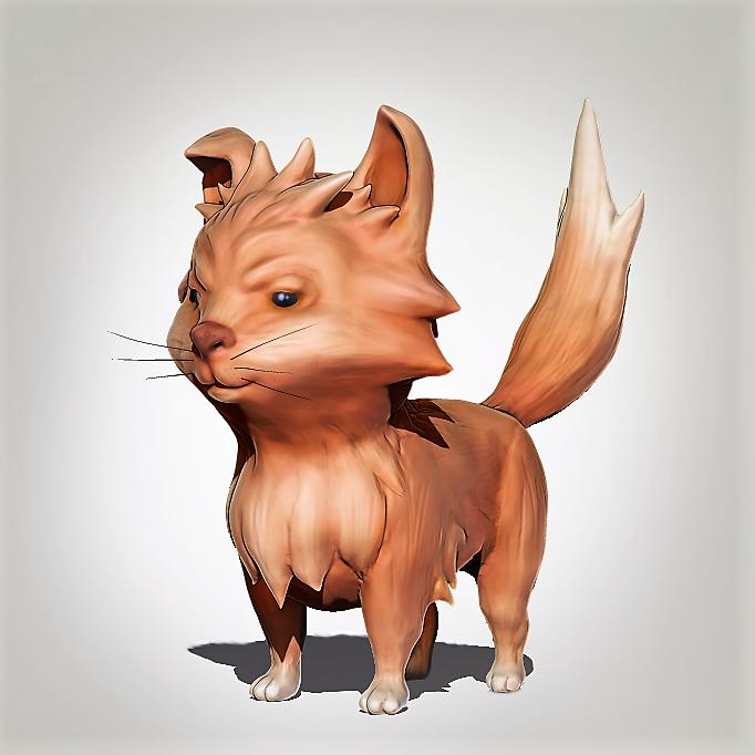 Mischievous Cat by blufan
