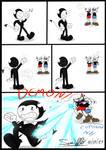 batim X cuphead - DEMON!!!