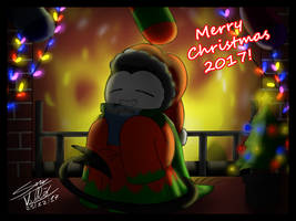 Batim - Merry Christmas 2017! by Skullgirl-2000