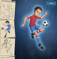 Football-player by TarXor