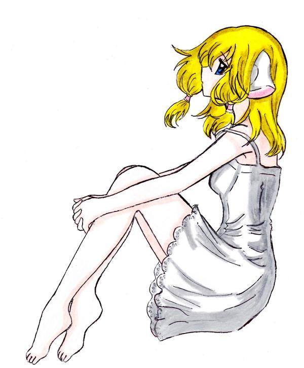 Namine/Chi crossover by SummonerDagger88