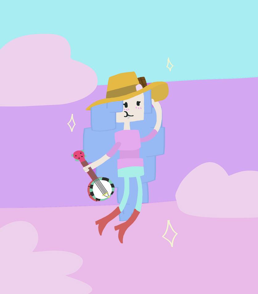 Marshmallow Marceline by gabby0004
