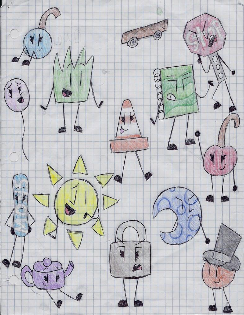 Object Lockdown Doodles by gabby0004