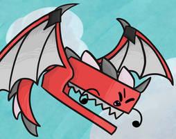 Dragon Stapy! by gabby0004