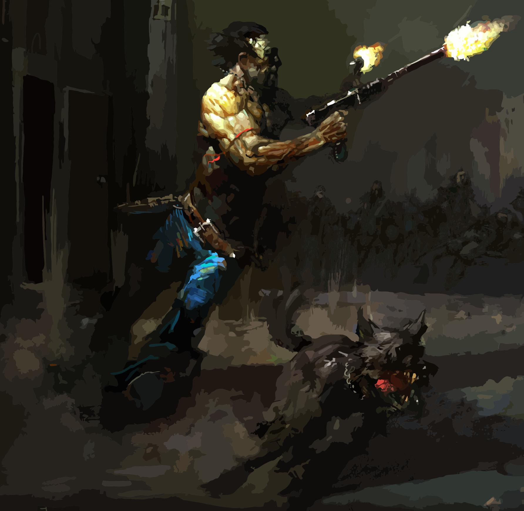 Vector The Chosen One And Dogmeat Fallout 2 By