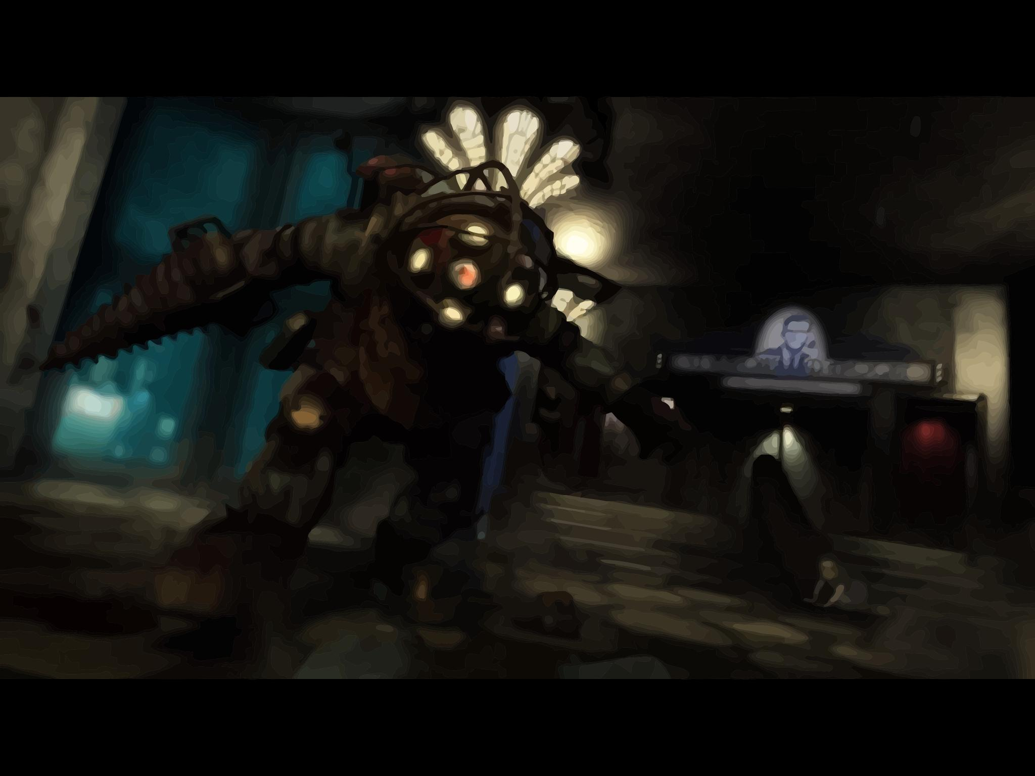 Vector - Bouncer Big Daddy 'Bioshock' by TheMidknightStar