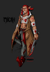 Micah - Bloodstains by MagusFerox