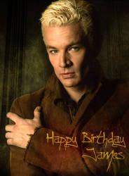 Happy Birthday James by sueworld