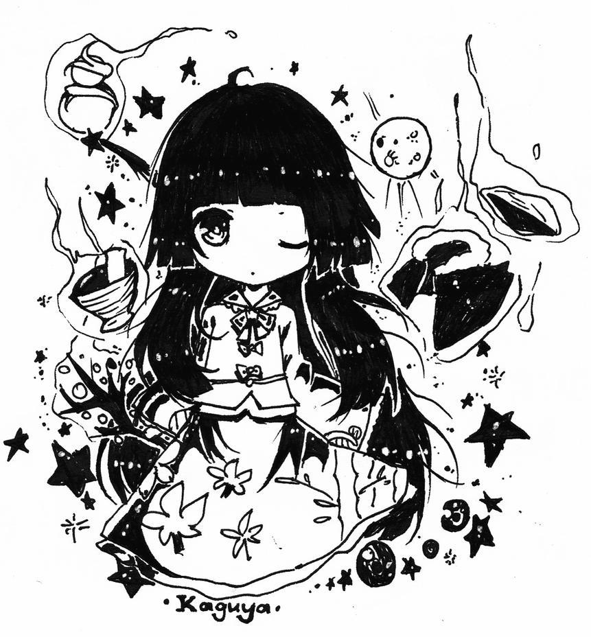 kaguya-chan by AnkoBaka