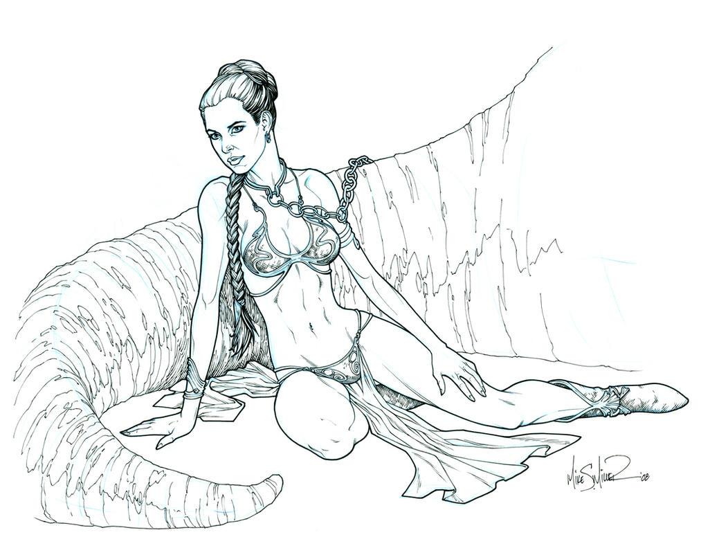 Princess Leia by UnderdogMike