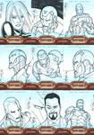 Iron Man 2 card art Set 1