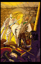 Game of Thrones issue 16 Colors by UnderdogMike