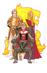 Lannisters color by UnderdogMike