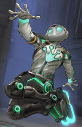 Lucio spacefrog Gray web
