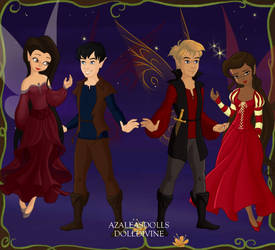 Pixi: Freya, Merlin, Arthur, and Gwen