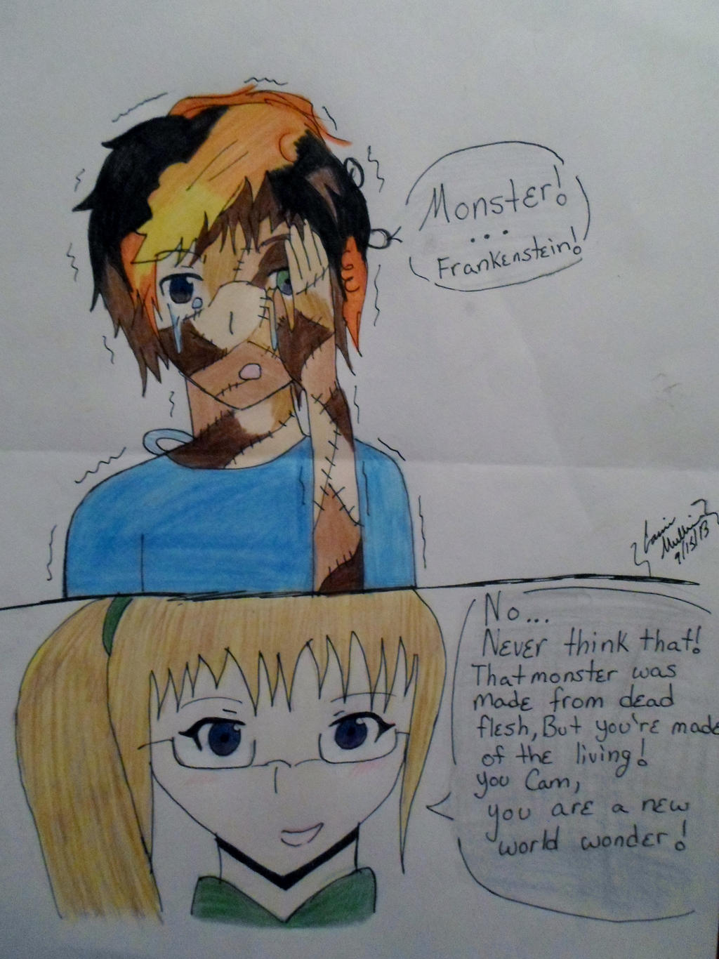Unwholly Fanart Cam's Appearance By Xxhaileemiyokeexx Unwholly Fanart Cam's  Appearance By Xxhaileemiyokeexx