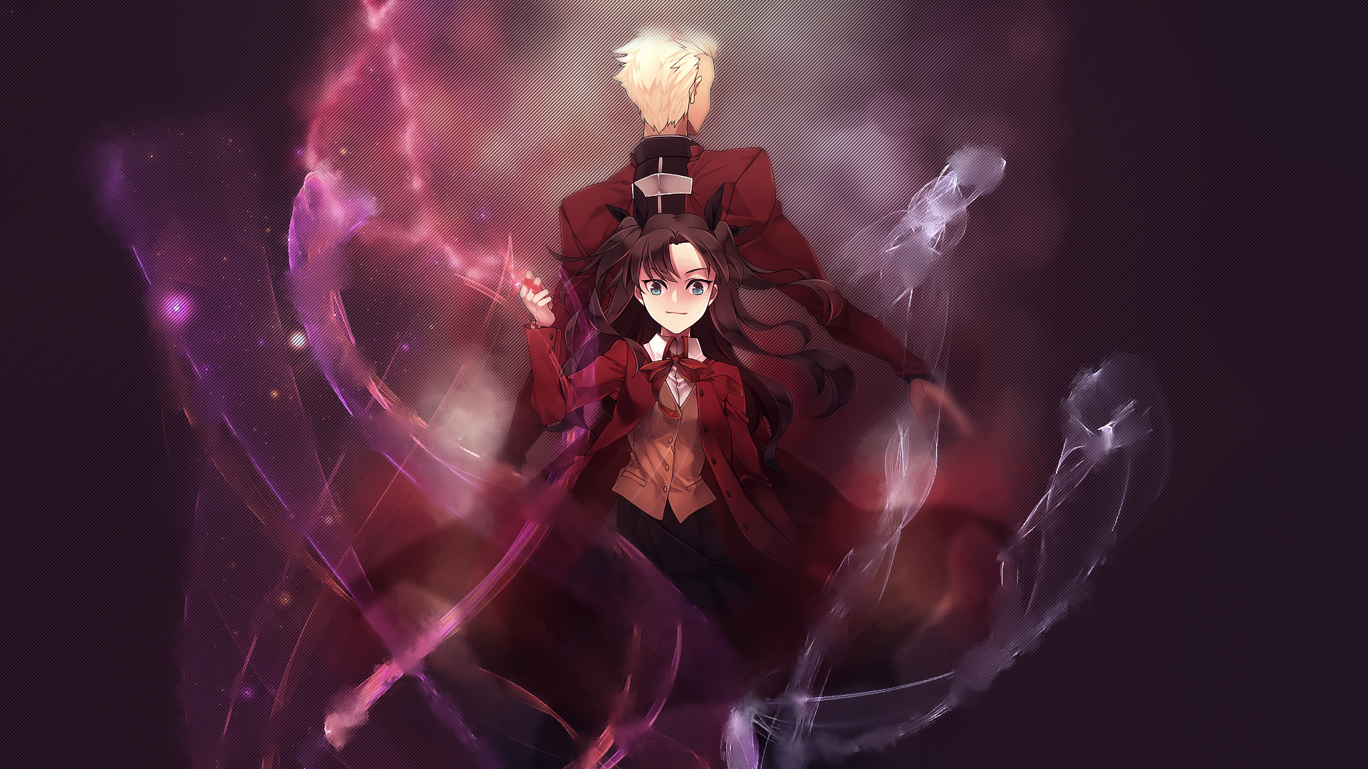 Rin And Archer Fate Stay Night Ubw By Epicsuketsune On Deviantart