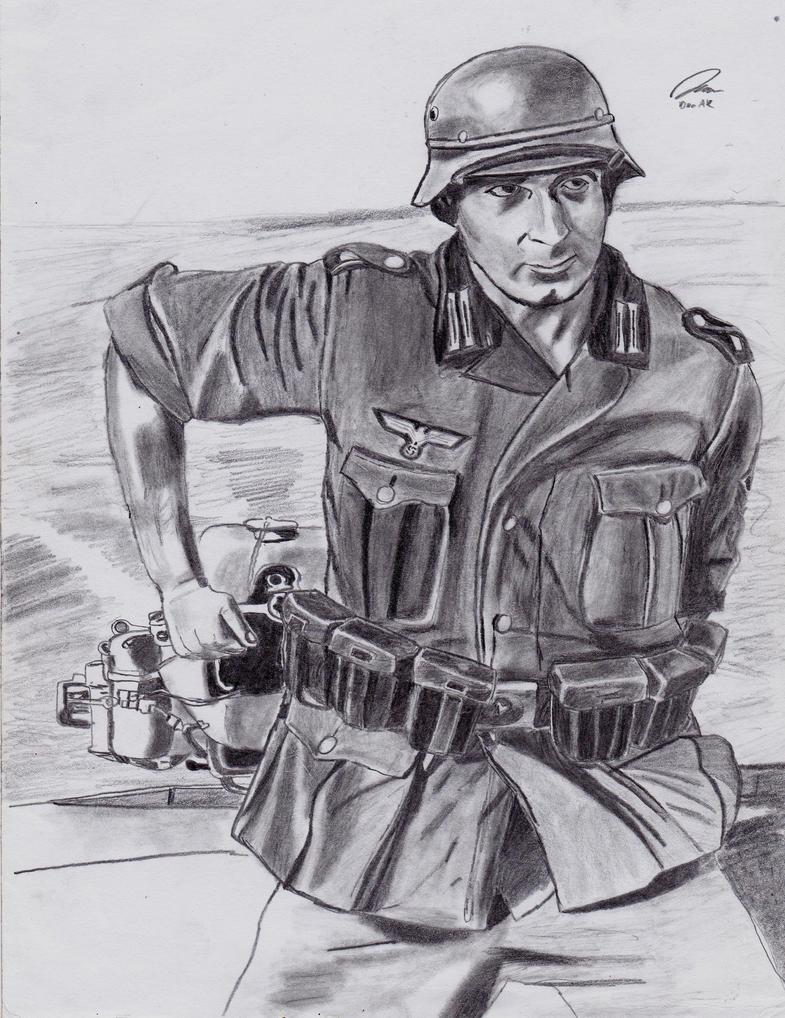 Wehrmacht soldier by DeoKristady