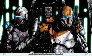 Half a Squad by CorranFett