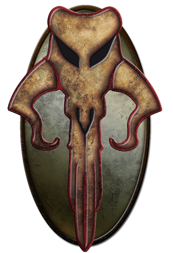 Crest of the Mandalorian Mercs by CorranFett