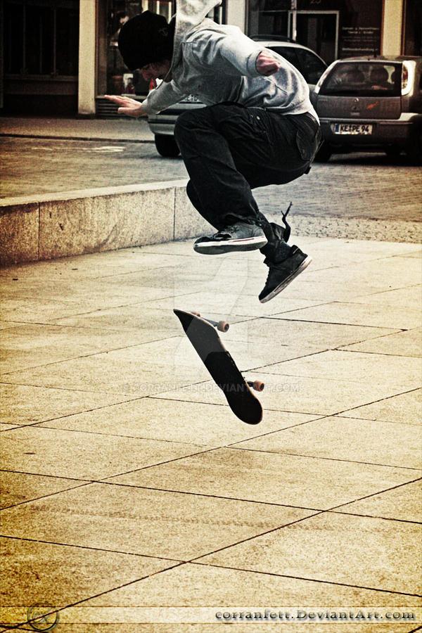 Skate 1 - Caught in Mid Air by CorranFett
