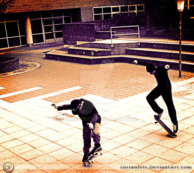 Skate 3 - Two Ollies by CorranFett