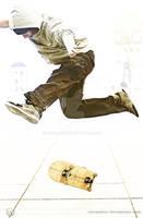 Skate 5 - Kickflip Action